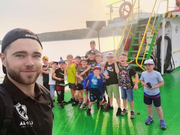 Sezonu ar turnīru Klaipēdā noslēdz U9 hokejisti