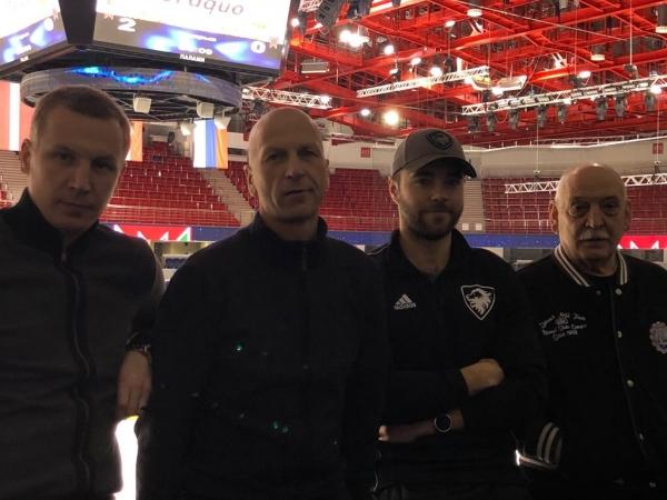 Liepājas hokeja pārstāvji gūst pieredzi Baltkrievijā