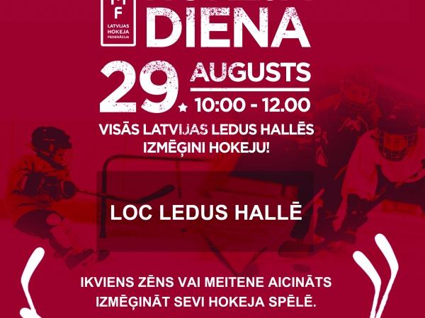MAXIMA hokeja diena 29. augustā